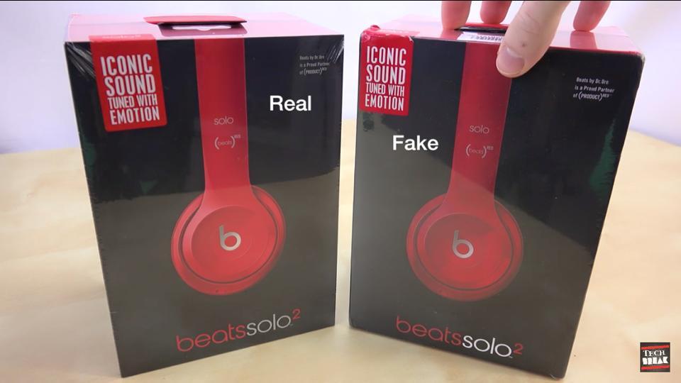 Beats Solo 2 thật và fake